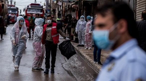 عناصر طبية للهلال الأحمر في سوريا (أرشيف)
