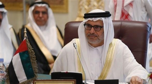 وزير الدولة الإماراتي للشؤون الخارجية الدكتور أنور محمد قرقاش (أرشيف)