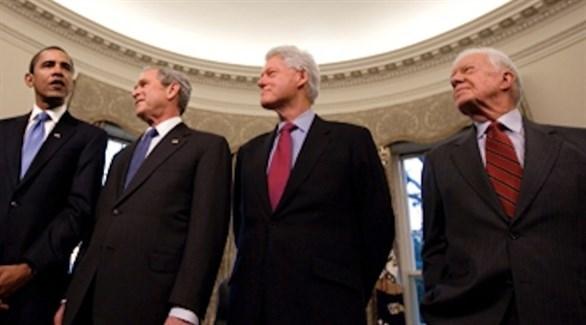 رؤساء الولايات المتحدة السابقين يدينون التمييز العنصري