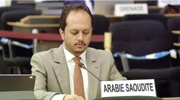 رئيس قسم حقوق الإنسان السعودية بالأمم المتحدة مشعل بن علي البلوي (أرشيف)