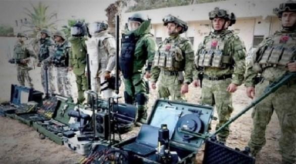 عسكريون أتراك في ليبيا (بوابة أفريقيا)