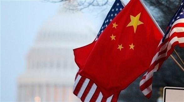 علما الصين والولايات المتحدة في أحد الشوارع الأمريكية (أرشيف)