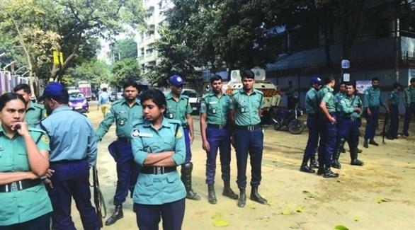 الشرطة في دكا ببنغلاديش (أرشيف)