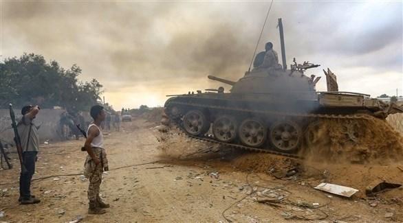 عناصر مقاتلة في ليبيا (أرشيف)