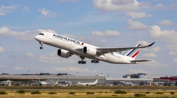طائرة ركاب تابعة للخطوط الجوية الفرنسية إير فرانس (أرشيف)