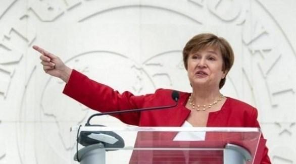مديرة صندوق النقد الدولي كريستالينا جورجييفا (أرشيف)