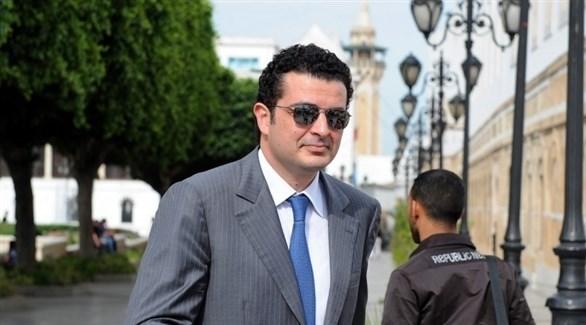 صهر الرئيس الأسبق زين العابدين بن علي، مروان المبروك (أرشيف / غيتي)