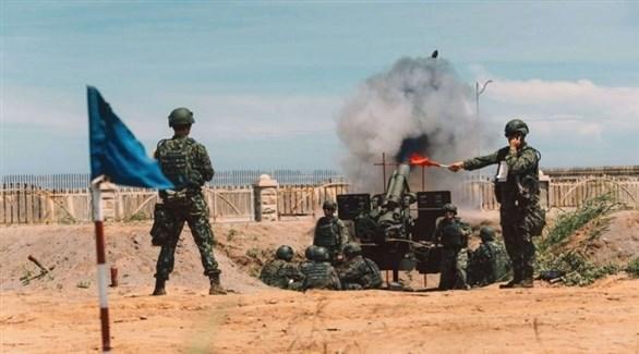 مناورات للجيش التايواني (أرشيف)