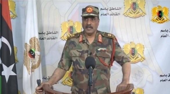 المتحدث باسم الجيش الليبي أحمد المسماري (أرشيف)