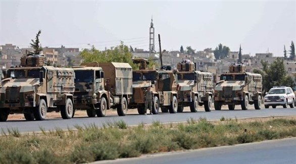 رتل عسكري تركي يدخل إلى سوريا (أرشيف)