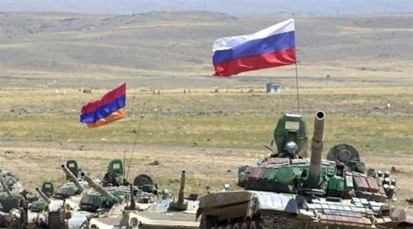 مناورات عسكرية روسية في القوقاز (أرشيف)