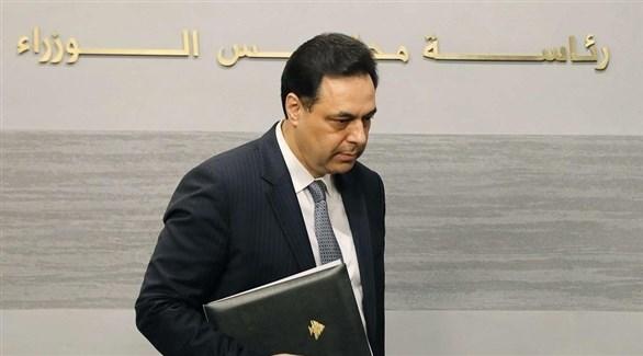 رئيس الوزراء اللبناني حسان دياب (أرشيف)