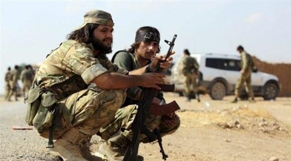 مرتزقة موالون لتركيا في سوريا (أرشيف)