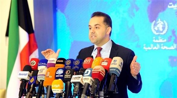 المتحدث الرسمي لوزارة الصحة الكويتية الدكتور عبدالله السند (أرشيف)