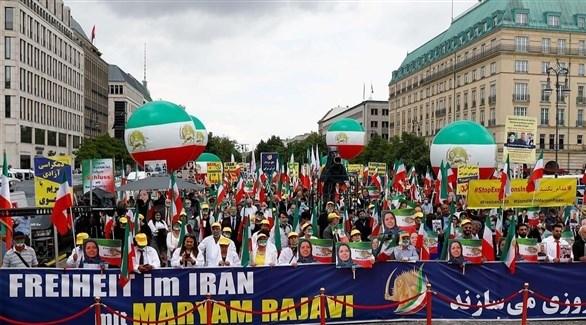 تجمع لأنصار المعارضة الإيرانية في المنفى (أرشيف)