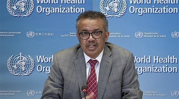 المدير العام لمنظمة الصحة العالمية تيدروس أدهانوم غيبريسوس (أرشيف)