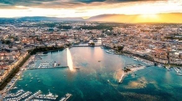 منظر عام لمدينة جنيف (ميرور)