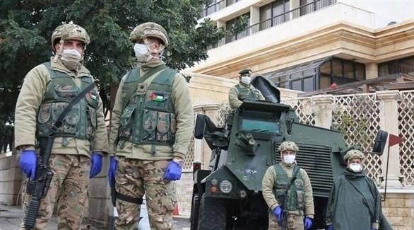 عناصر من الجيش الأردني (ارشيف)