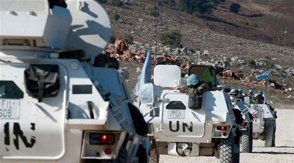 قافلة عسكرية لقوات يونيفيل في جنوب لبنان (أرشيف)