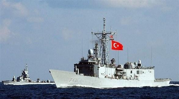 سفن حربية تركية (أرشيف)