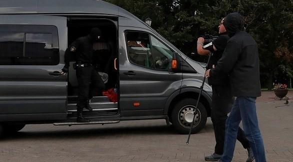 اعتقال صحافيين في بيلاروسيا (أرشيف)