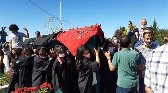 جنازة  المحامية التركية إيبرو تيمتيك (أرشيف)