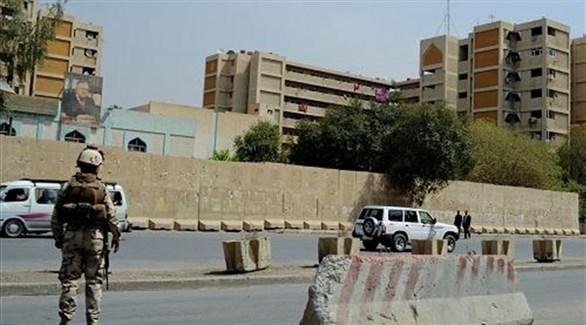 قوات أمنية في المنطقة الخضراء ببغداد (أرشيف)