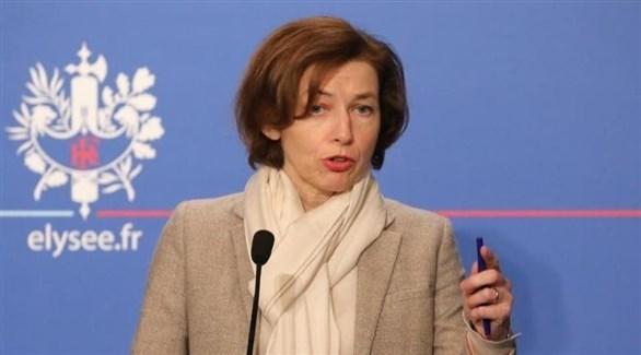 وزيرة القوات المسلحة الفرنسية فلورنس بارلي (أرشيف)