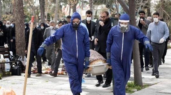 وفيات كورونا في إيران (أرشيف)