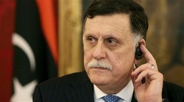 رئيس حكومة الوفاق الليبية فائز السراج (أرشيف)
