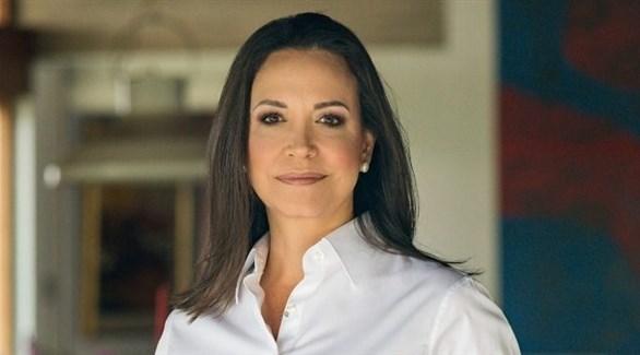 النائبة الفنزويلية السابقة ماريا كورينا ماتشادو (أرشيف)