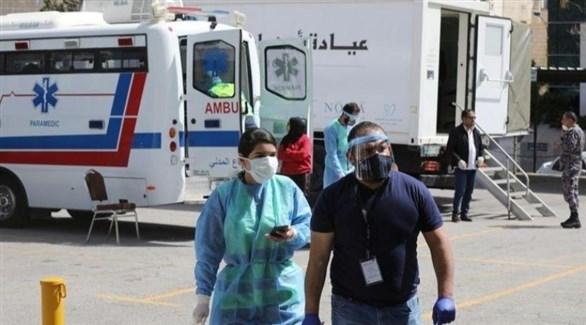 عاملون في قطاع الصحة الأردني (أرشيف)