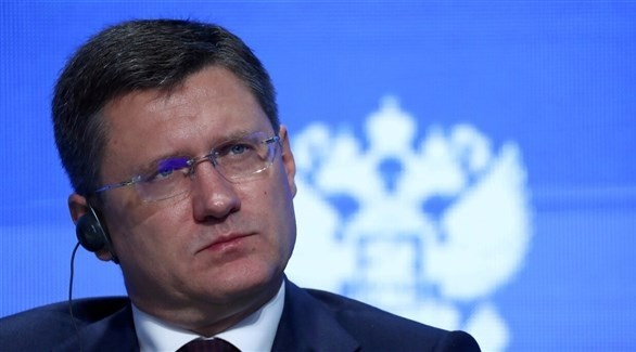 وزير الطاقة الروسي الوزير ألكسندر (أرشيف)