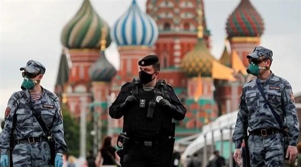 عناصر أمن روس في موسكو (أرشيف)