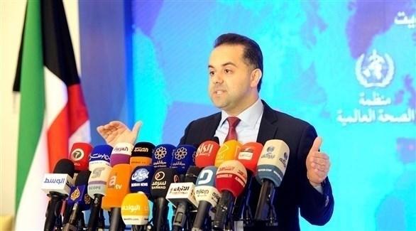المتحدث باسم وزارة الصحة الكويتية عبدالله السند (أرشيف)