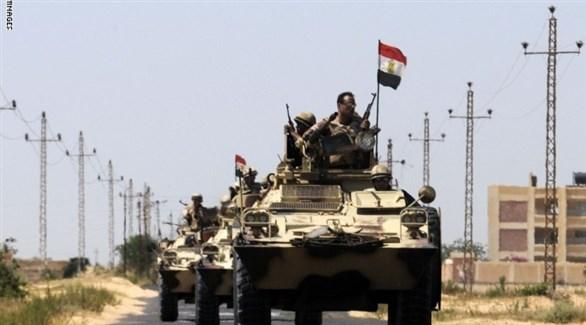 مدرعات للجيش المصري في سيناء (أرشيف)