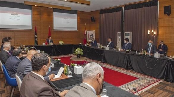 الأطراف الليبية في المغرب (أرشيف)