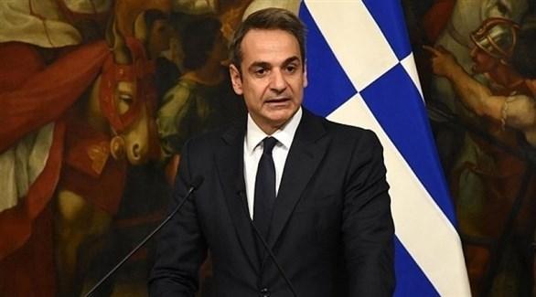 رئيس الوزراء اليوناني كيرياكوس ميتسوتاكيس (أرشيف)