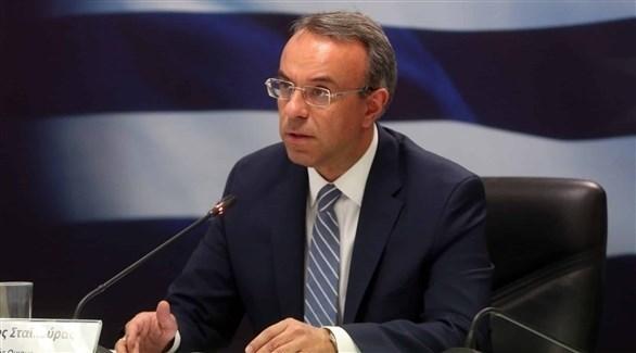 وزير المالية اليوناني خريستوس ستايكوراس (أرشيف)