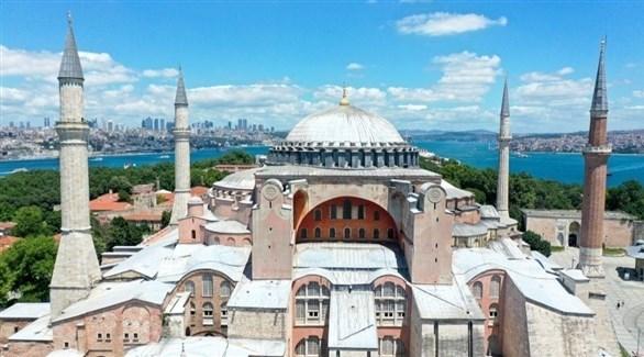 مسجد آيا صوفيا (أرشيف)