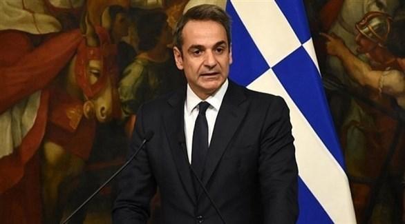 رئيس وزراء اليونان كيرياكوس ميتسوتاكيس  (أرشيف)