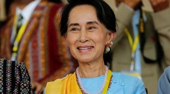 الزعيمة البورمية أونغ سان سو تشي (أرشيف)