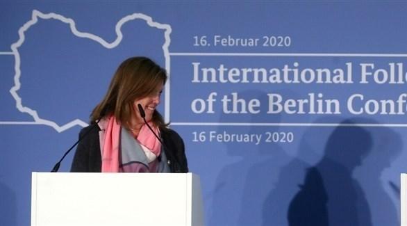 الممثلة الخاصة للأمين العام للأمم المتحدة في ليبيا بالإنابة ستيفاني وليامز (أرشيف)
