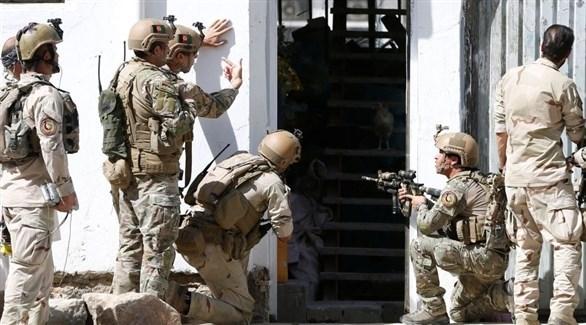 عناصر من قوات الأمن الأفغانية (أرشيف)