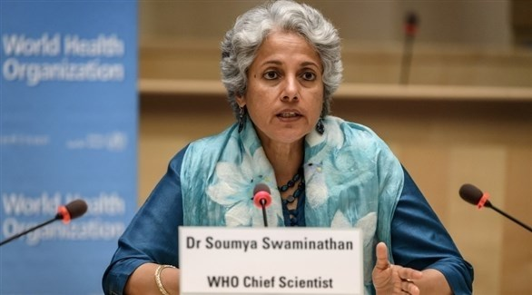 كبيرة علماء منظمة الصحة العالمية سمية سواميناثان (أرشيف)