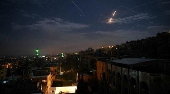 قصف إسرائيلي على مواقع الميليشيات بسوريا (أرشيف)