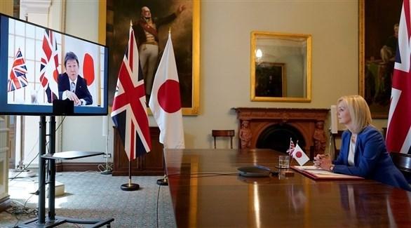 اتفاق اقتصادي بين بريطانيا واليابان (أرشيف)