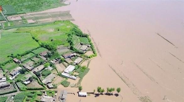 فيضانات في كوريا الشمالية (أرشيف)