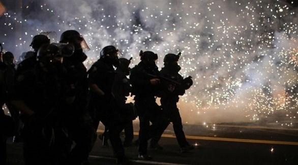 عناصر الشرطة في بورتلاند الأمريكية (أرشيف)