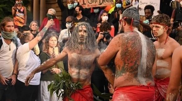 احتجاجات في أستراليا ضد تدمير مواقع أثرية للسكان الأصليين (أرشيف)